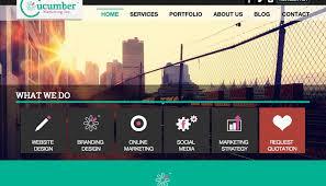 six years of web design evolution cucumber marketing inc