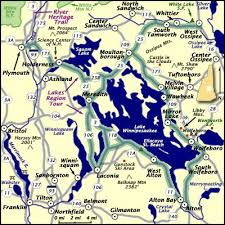 Latest Nh Lakes Region Listings by New Hampshire Lakes Region Tour Map New England Maps