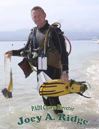 padi course director joey ridge