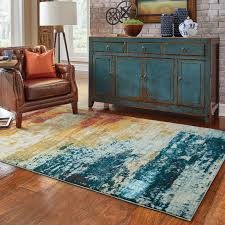 Abstract Area Rugs Weavers Sedona 6365a Blue Abstract Area Rug Rugmethod