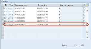 sap document types table to define document type and number range in sap fico