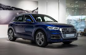 Audi Q5 Inside 2017 Audi Q5 In Navarra Blue Metallic On Display In Neckarsulm