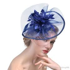 feather flower modern feather flower fascinator hats for wedding banqut party