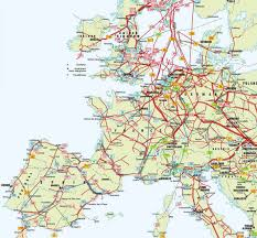 Map Central Europe by Map Of Europe