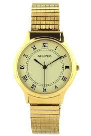 gold bracelet mens watches images Sekonda gold plated expandable bracelet mens watch 3024b jpg