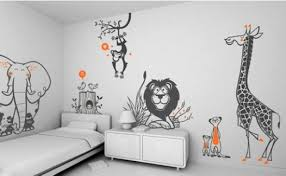 Modern Kids Wallpaper  Creative Accent Wall Ideas For Trendy - Boys bedroom wallpaper ideas