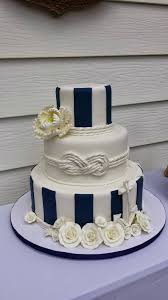 wedding wishes nautical i loved this nautical wedding cake for clients of flur bakery