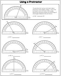 using a protractor if your shower door has panels that turn at