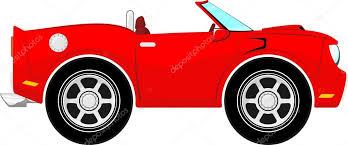 cartoon convertible car funny red convertible car cartoon stock vector hayaship 26829779