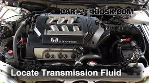 changing transmission fluid honda accord transmission fluid level check honda accord 1998 2002 1998
