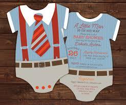10 suspenders baby shower invitations tie invitation geeky