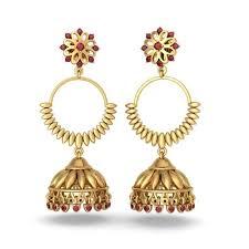 gold jhumka earrings design earrings designs in gold jhumka already4fternoon org