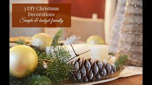 3 diy christmas decorations crafts u0026 projects youtube