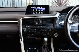 lexus rx 2016 interior 2016 lexus rx 200t review video performancedrive