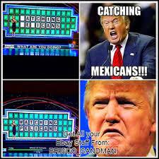 Mexicans Memes - imán nevera divertido refrigerador donald trump rueda de la fortuna