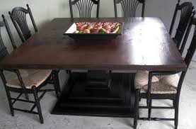 60 inch square dining table with leaf mia reclaimed wood 60 inch square dining table by kosas home awesome