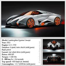 lamborghini veneno specification auto data sheets lamborghini egoista concept 2013