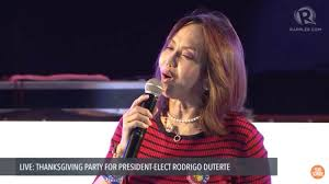 welcome speech for thanksgiving party in photos stars at duterte u0027s thanksgiving party