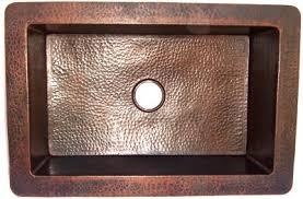 Hammered Copper Kitchen Sink IV - Hammered kitchen sink