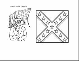 spectacular civil war union flag coloring page with civil war