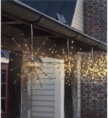 two solar twig lights lighting wind weather