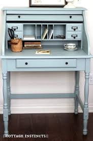 Bedroom Furniture Painted With Chalk Paint Best 25 Painted Secretary Desks Ideas On Pinterest Secretary