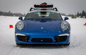 Porsche 911 In Snow - porsche u0027s winter driving laughs in the face of snow driving