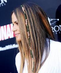 hair wraps halle berry yarn hair wrap trend premiere