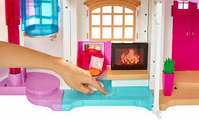 The Coolest Barbie House Ever by Barbie Hello Dreamhouse Playset With Speech Recognition Walmart Com