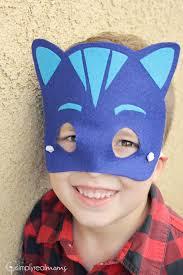 The Mask Costume No Sew Diy Pj Masks Costumes