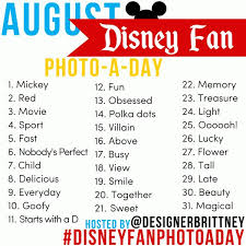 Challenge Can You Breathe August Instagram Challenge Disney Fan Photo A Day Stop