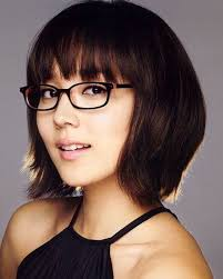 short hairstyles with glasses and bangs 192 best short hair glasses images on pinterest white hair