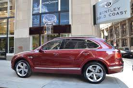 2017 bentley bentayga red interior 2017 bentley bentayga stock b860 for sale near chicago il il