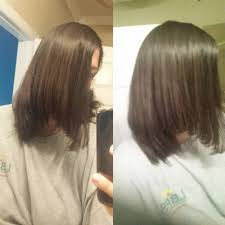 cut and inch off hair my train wreck of a hair cut had to cut off 3 inches to fix it