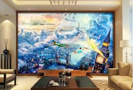Compare Prices On Fairy Wall Mural Online ShoppingBuy Low Price - Kids room wallpaper murals