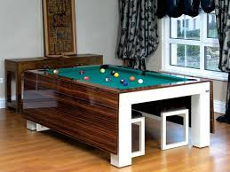 Amusing Pool Table Converts To Dining Table  About Remodel - Pool tables used as dining room tables