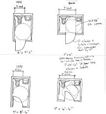 Bathroom Floor Plans By Size by Images About Basement Bathroom On Pinterest Small Floor Plans And