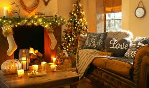 New Year Decoration Ideas For Home by Wallpaper Christmas New Year Home Light Fire Candles Pillows