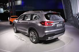 subaru mini pickup updated subaru shows off ascent three row suv concept