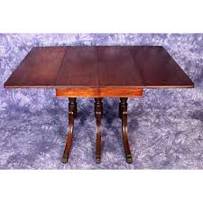 Duncan Phyfe Dining Table Worth by 1930 Duncan Phyfe Antique Mahogany Drop Leaf Dining Aptdeco