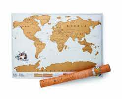 Personalized World Map by 10 Gifts Every Female Traveler Wants The Budget Minded Traveler