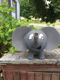 diy kids elephant animal project gallon water jug lays potato