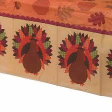 52 x 90 rectangular thnaksgiving vinyl tablecloth
