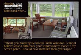testimonials amazing ez screen porch windows