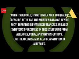 can sinus infection cause dizziness light headed can a sinus infection cause you to be dizzy youtube