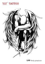 best 25 fallen angel tattoo ideas on pinterest sad angel