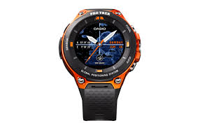 Most Rugged Watch Casio U0027s Wsd F20 Rugged Smartwatch Will Be The First Android Wear