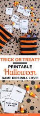 tricks or treats a really simple u0026 fun halloween game u0026 printable