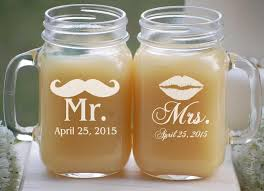 jar favors jar wedding favors etched jars wedding jar