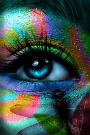 eyes see a million colors all at the same time beautiful